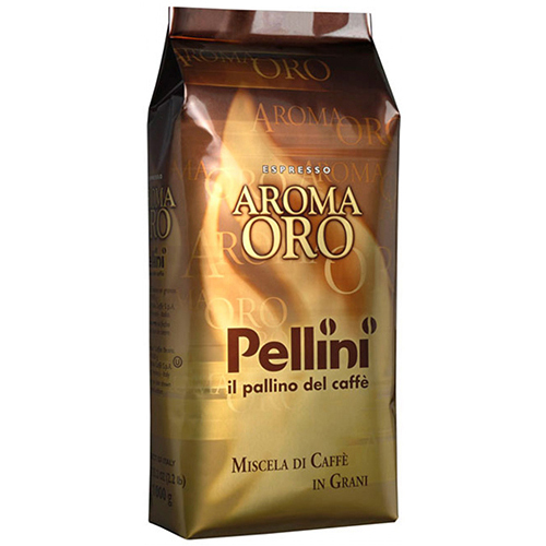 Кофе в зернах Pellini espresso aroma oro